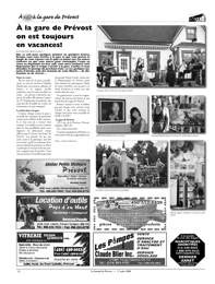 Journal de pr vost juillet 2008 - Le journal d eyragues ...