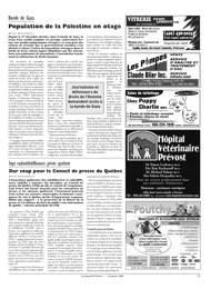 Journal de p vost janvier 2009 - Le journal d eyragues ...